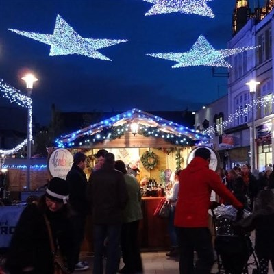 Cardiff Christmas Market Day 2020