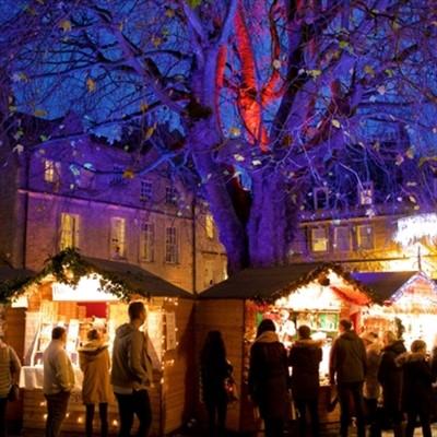 Bath Christmas Market Day 2021