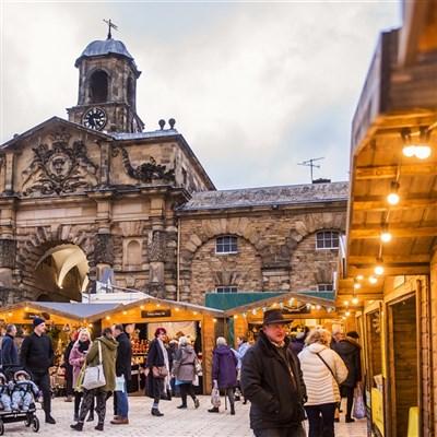 Chatsworth Christmas Market 2021