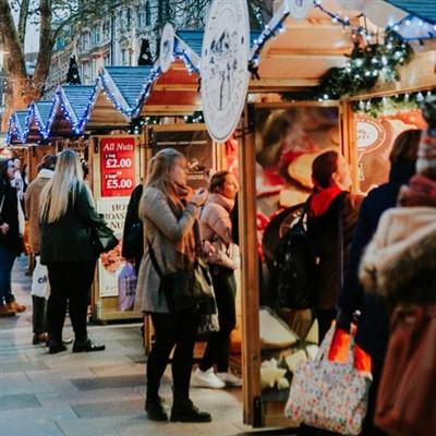 Cardiff Christmas Market Day 2021
