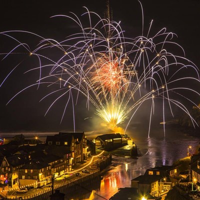 New Year in Looe 2020
