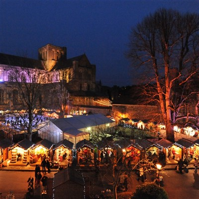 Winchester Christmas Market Day 2021