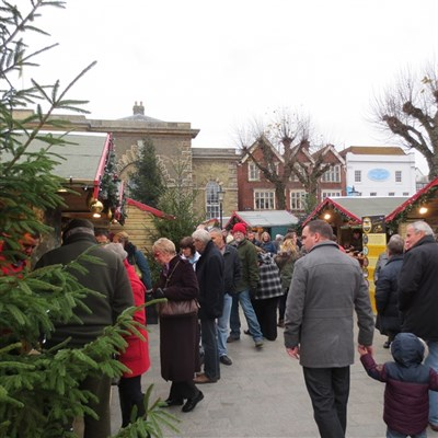 Salisbury Christmas Market Day 2020