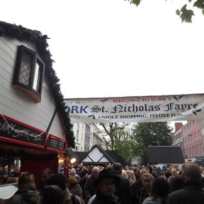 York Christmas Market Day 2020