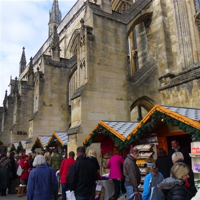 Winchester Christmas Market Day 2020